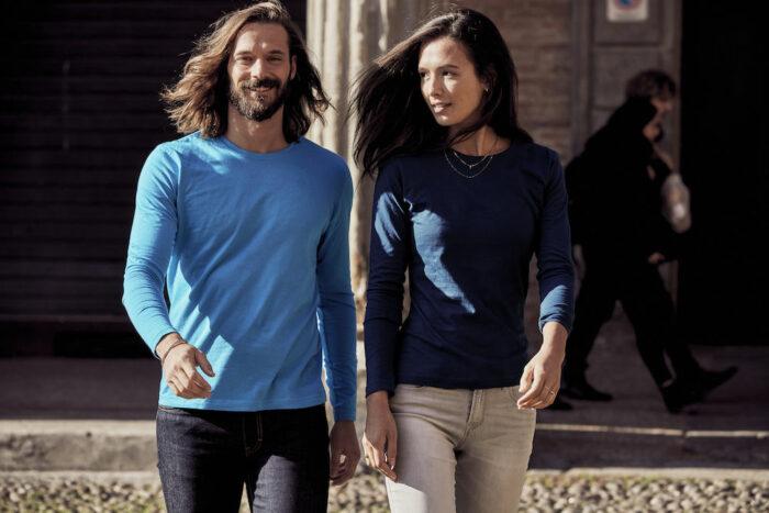 029033- Clique Basic-T - T-shirt Homme Manches Longues - 109 T-shirt Coton