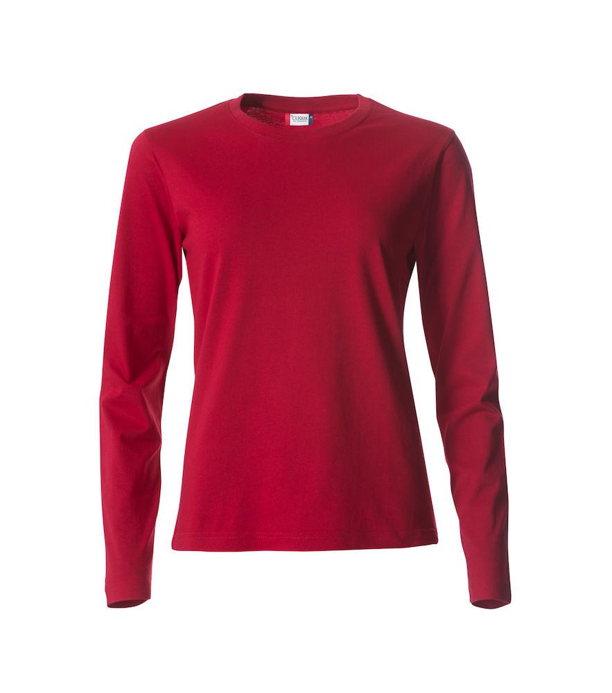 029034- Clique Basic-T - T-shirt Femme Manches Longues - 109 T-shirt Coton