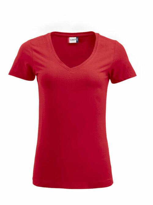 029318 - Arden manches courtes - Col V - T-shirt Femme - 109 T-shirt Coton