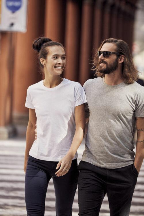 029348 - 029349 - Clique Premium Fashion-T - T-shirt Femme - T-Shirt Homme - 109 T-shirt Coton