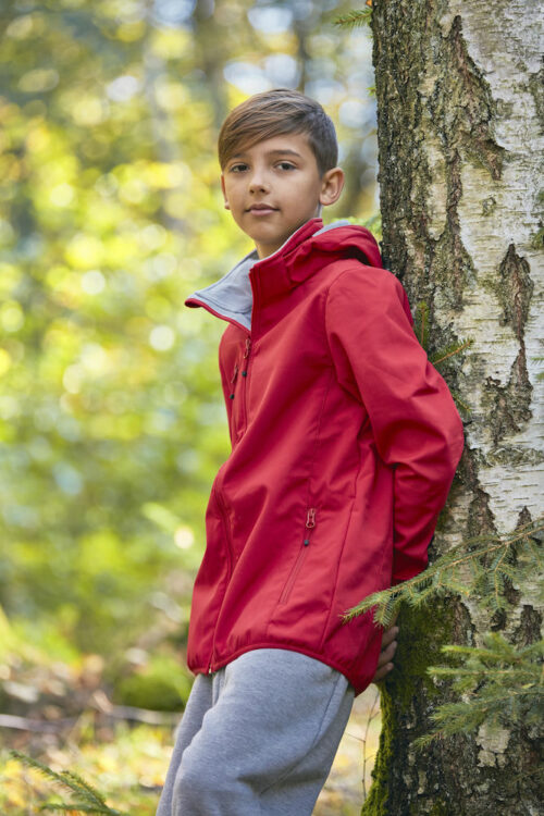 020909_BasicSoftshellJunior_softshell, veste, enfant, clique, new wave, 109 t-shirts, impermeable, respirant, chaud, tendance