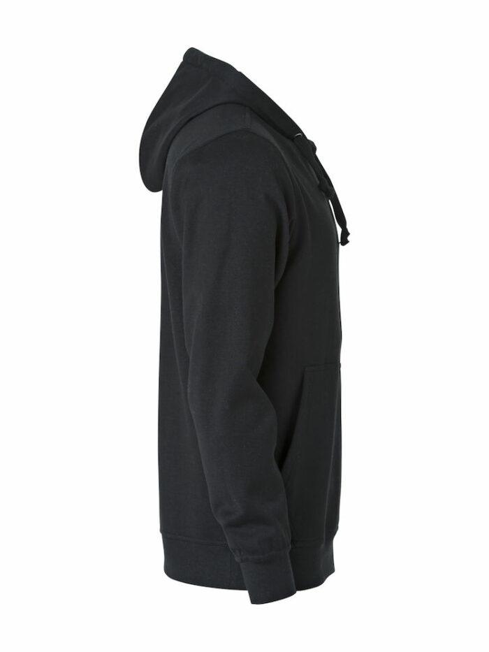 021021_Basic Hoody Junior, clique, new wave, 109 t-shirts, sweatshirt capuche, poche kangourou, pas de cordon