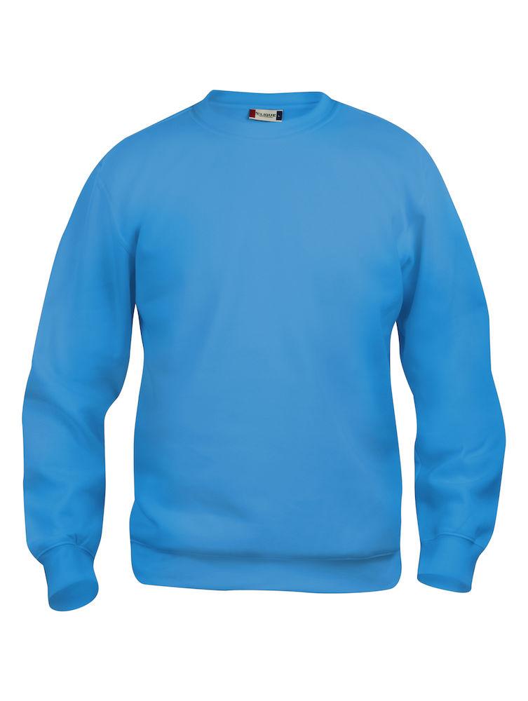 021030_BasicRoundneck_clique, new wave, 109 t-shirts, sweat, sweatshirt, homme, femme, unisexe, tissu doux, résistât, tendance, double couture