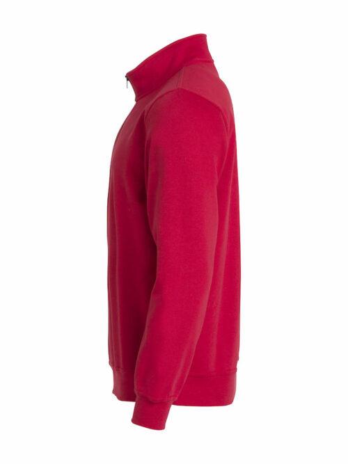 021033_BasicHoodyHalfZip, clique, new wave, 109 t-shirts, sweatshirt, sweat, col zip unisexe, homme, femme, col double, tendance, tissus doux