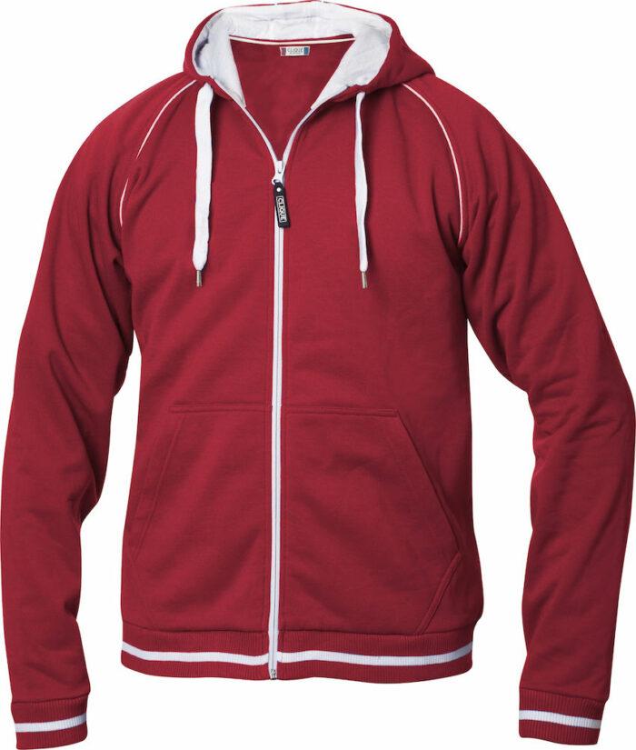 021051_Gerry, sweatshirt, full zip, homme, capuche, coton, polyester, cordon serrage, qualite, produit premium, top, tendance, clique, new wave, 109 t-shirts