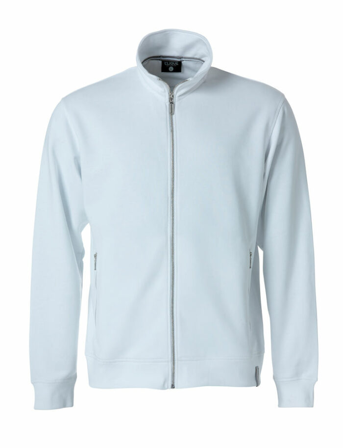021058_021059_ClassicFTJacket_Ladies, clique, new wave, 109 t-shirts, french terry, coupe moderne, qualite, ajusté, finitions, bicolores, coton, polyester