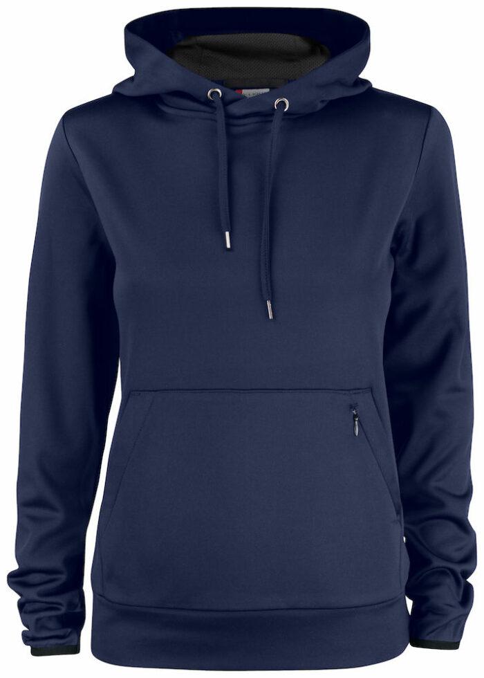 021063_Oakdale_ladies_sweatchirt, femme, clique, new wave, 10ç t-shirts, capuche technique, poche kangourou, cordons de serrage