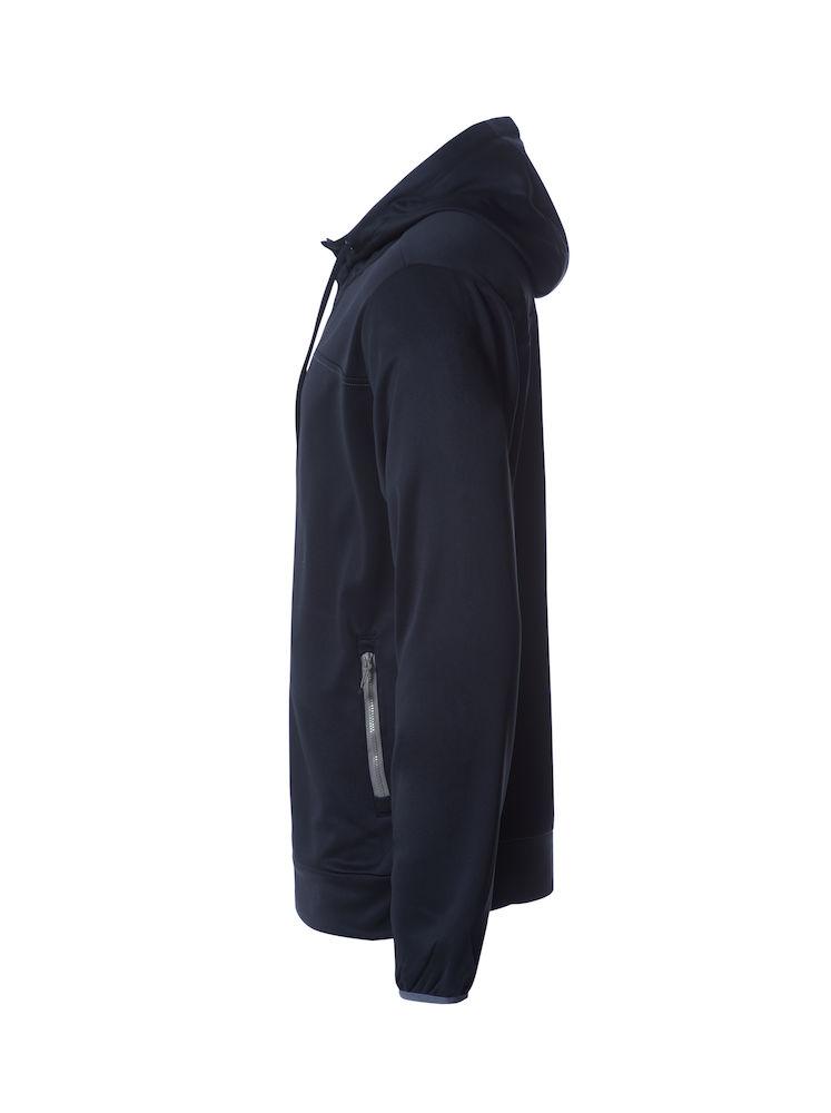 021064_Ottawa_clique, new wave, 109 t-shirts, superbe veste zipped a capuche, homme, femme, cordon de serrage, capuche double mesh, tendance, super produit, poches