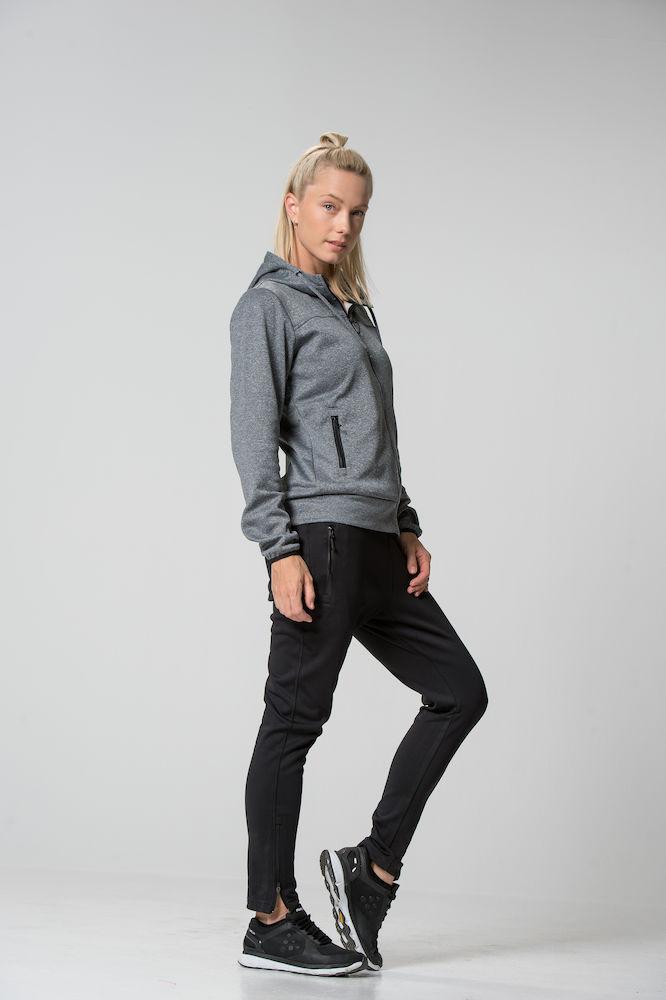021065_Ottawa_Ladies_clique, new wave, 109 t-shirts, superbe veste zipped a capuche, homme, femme, cordon de serrage, capuche double mesh, tendance, super produit, poches