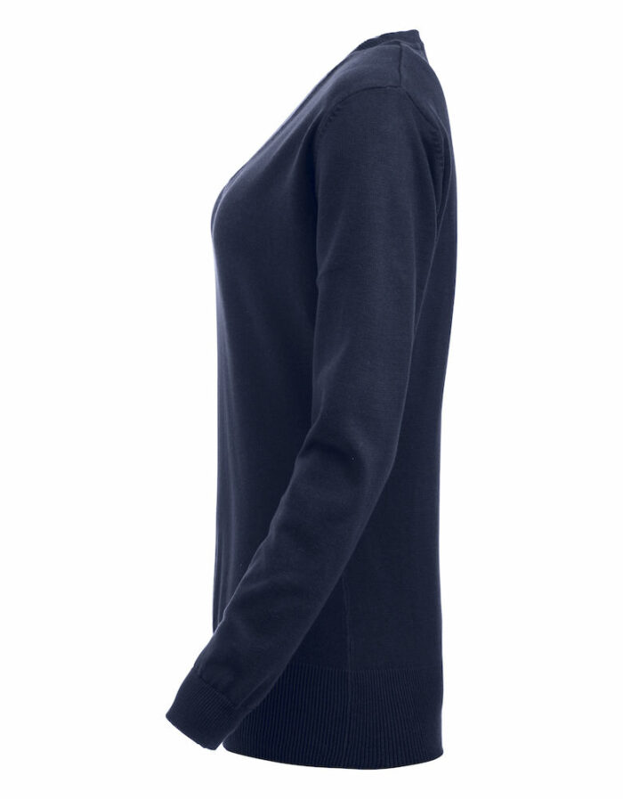 021176_Aston_Ladies_pull over col v, clique, new wave, 109 t-shirts, elasthanne, traitement silicone
