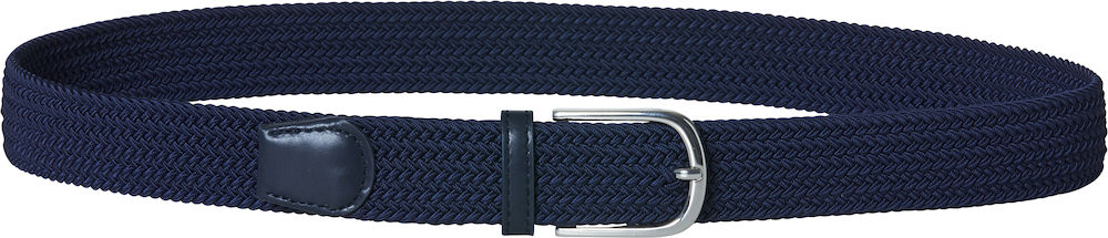 024205_Elastic Belt - Clique - ceinture stretch polyester - boucle métal - homme, femme - 109t shirt