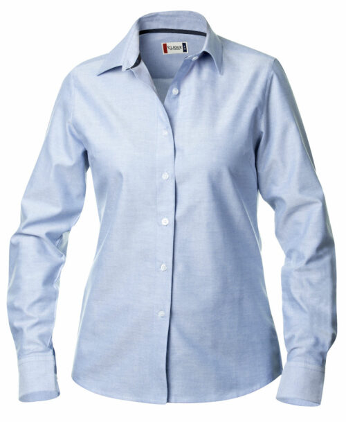 027321_Garland_chemise, femme, oxford, manches longues, clique, new wave, 109 t-shirts, easy care, oxford