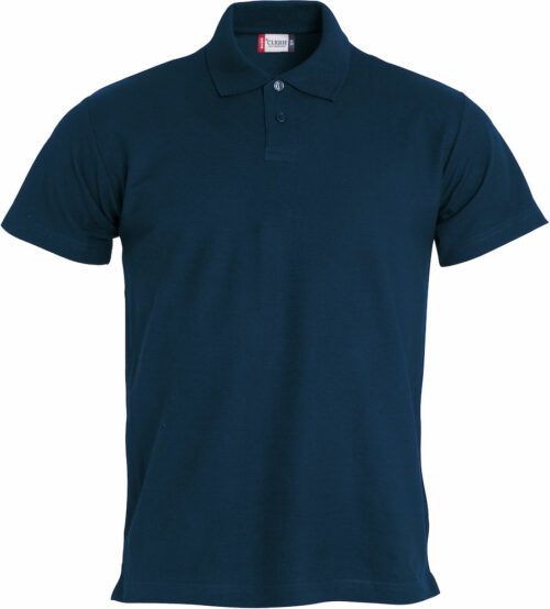 Polo Basic Polo Junior - Clique 028232, polo usage quotidien, coton, ring spun, fente aisance, qualite, tendance, clique, new wave, 109 t-shirts