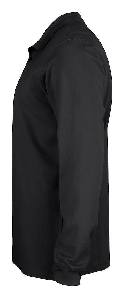 028233_Basic_polo_manches longues junior, polo, coton , manches longues, tendance, qualite, solide, resistant, fentes à la taille