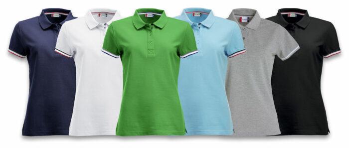 028239_Polo_Newton_Clique_New_Wave_109 t-shirts_Polo_Contraste_Homme_Tendance_Coupe ajuster_Confortable_Femme