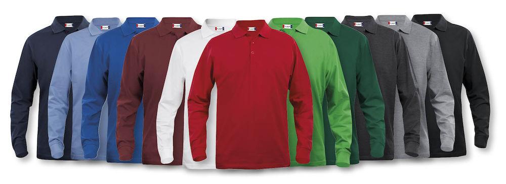 028245_Classic_Licoln_LS_Marion_Homme_Femme_Polo_manches_longues_Clique_New_Wave_109-t-shirts_coton_fente_aisance