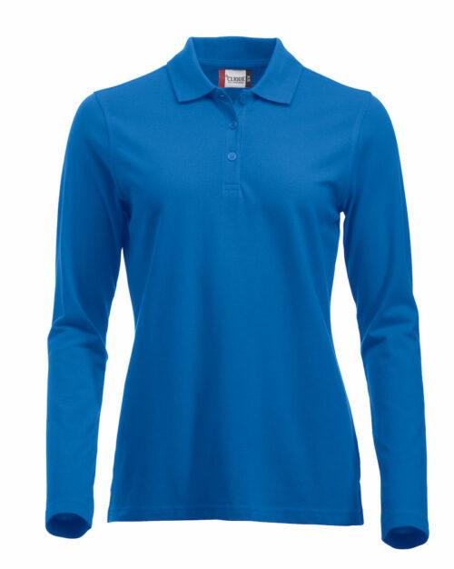 028247_Classic_Licoln_LS_Marion_Homme_Femme_Polo_manches_longues_Clique_New_Wave_109-t-shirts_coton_fente_aisance