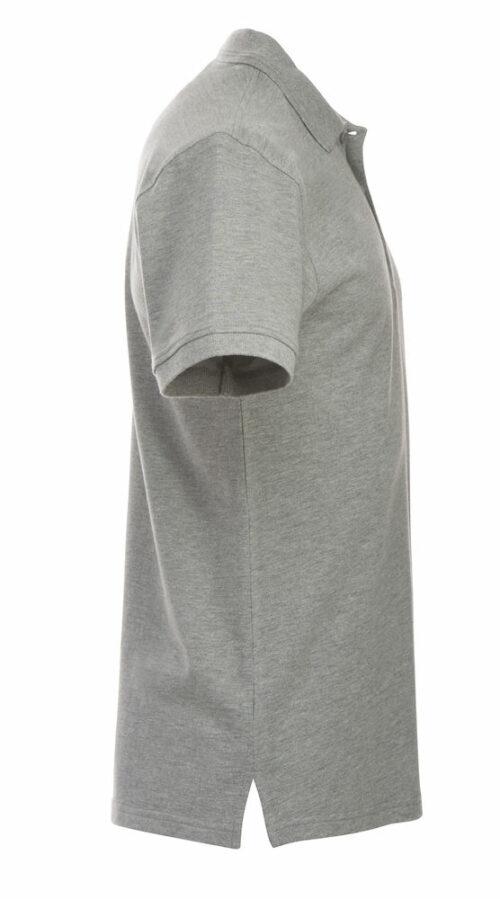 028250_ManhattanPolo_Clique_New_Wave_109 t-shirts-polyester, coton, jacquard sur le col, tendance, qualité