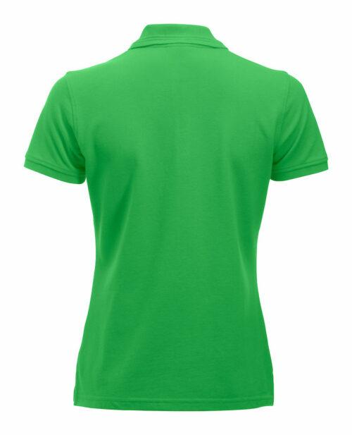 028251_ManhattanPolo_Ladies_Clique_New_Wave_109 t-shirts-polyester, coton, jacquard sur le col, tendance, qualité, femme