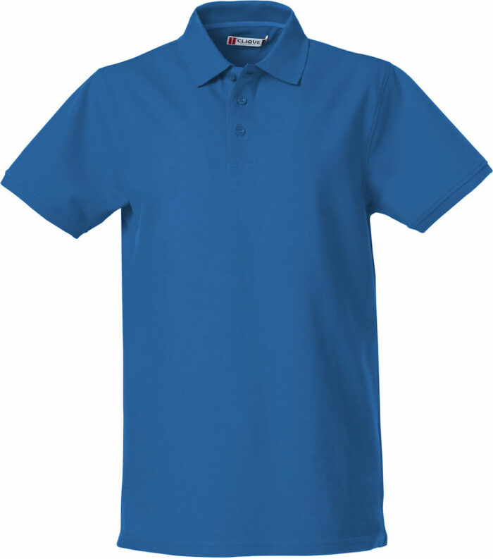 028260_HeavyPremiumPolo_Clique_New_Wave_109_T-shirts_Polo_Lourd_Manches_Courtes_Tendance_Solide