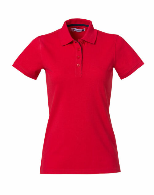 028261_Heavy-Premium-Polo-Ladies_Clique_New_Wave_109_T-shirts_Polo_Lourd_Manches_Courtes_Tendance_Solide