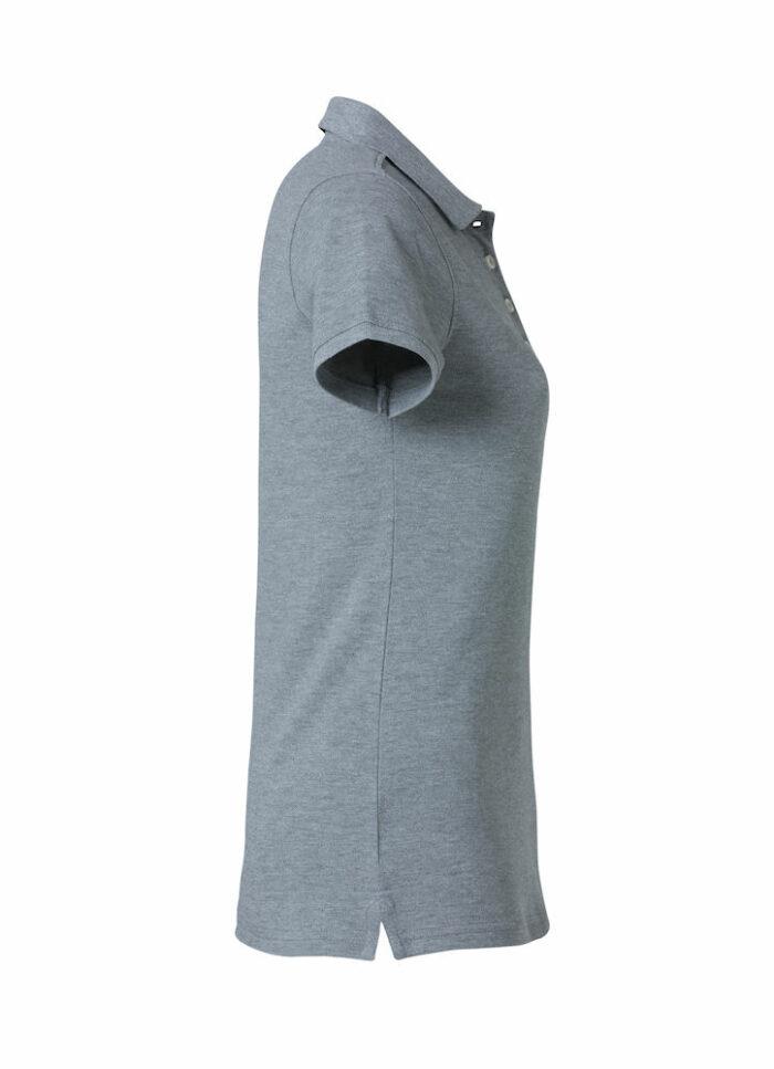 028261_Heavy-Premium-Polo-Ladies_Clique_New_Wave_109_T-shirts_Polo_Lourd_Manches_Courtes_Tendance_Solide