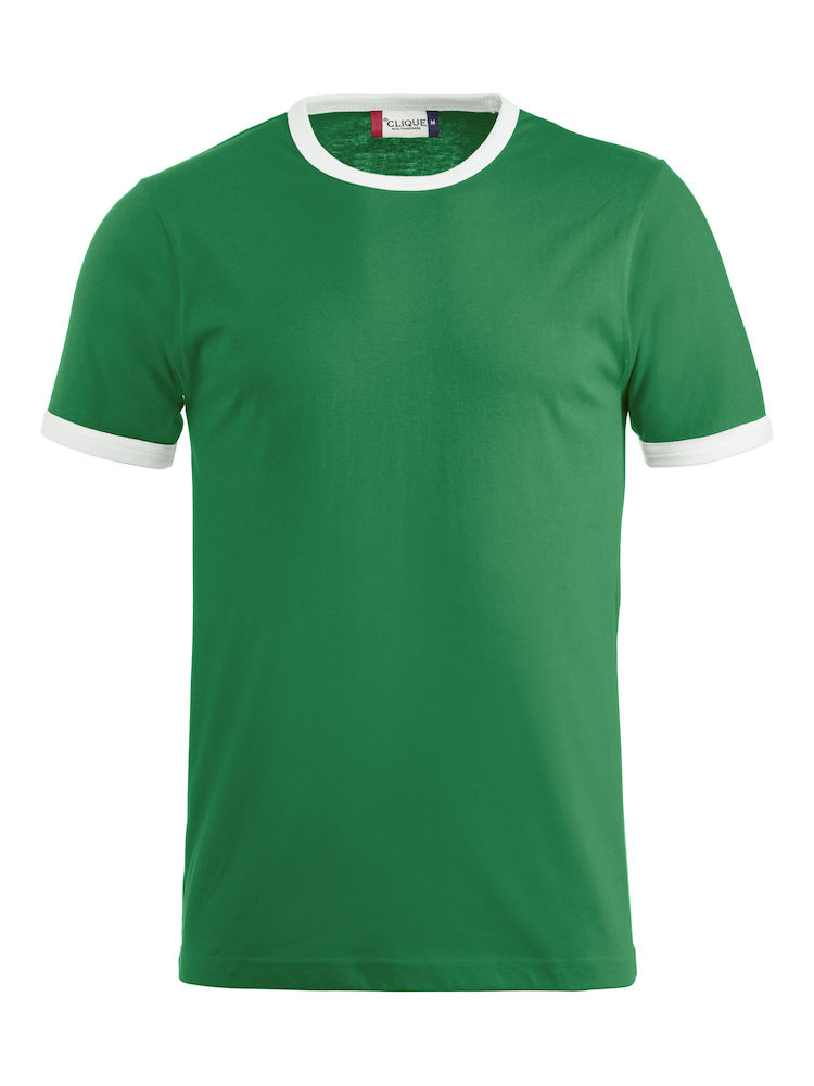 029314_Nome_Clique - T-shirt contraste en cote 1x1 et elasthanne - Coton peigne - T-shirt Homme - T-shirt Femme - 109 T-shirts
