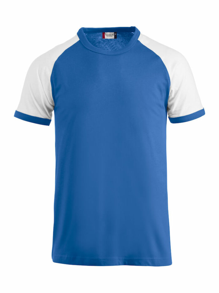 029326_RaglanT_B - T-shirt Ragman bicolore en jersey - Coton - T-shirt Homme - T-shirt Femme - 109 T-shirts