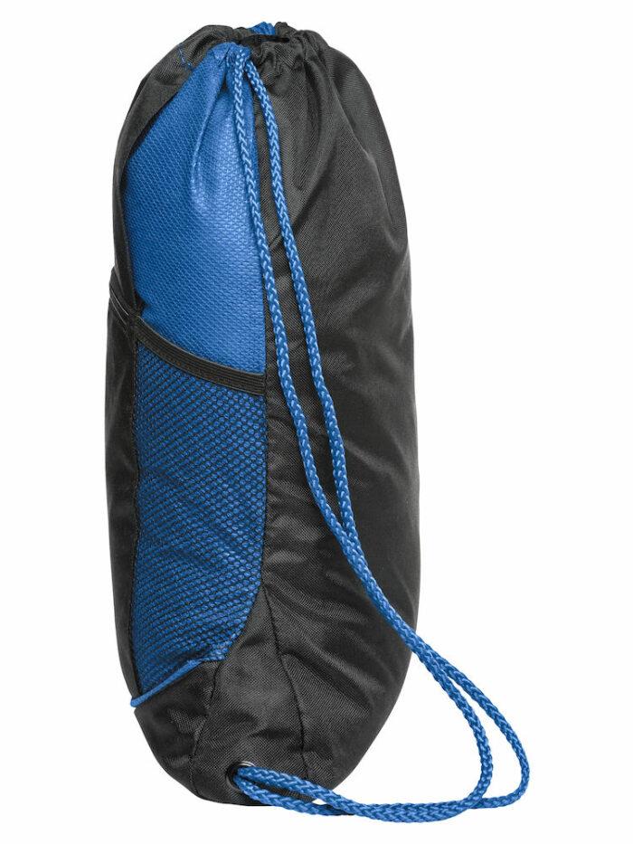 040163_SmartBackpack, clique, new wave, 109 t-shirts, sac a dos sportif, bicolore, reglage par cordon, bretelles, poche exterieure