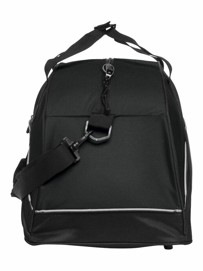 040208_Sac a dos, sportbag, 040208, clique, new wave, 109 t-shirts, compartiment chaussures, poignets solides, sangle, poche exterieur