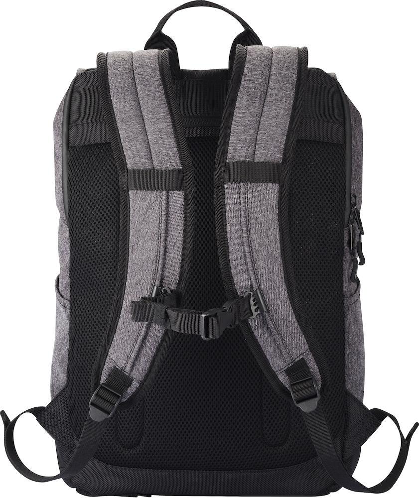 040220_Sac a dos Roll Up Back Pack Clique, - new wave -109 t-shirts, moderne à soufflet, poche ordinateur, poche anti-vo, crochet pour clé