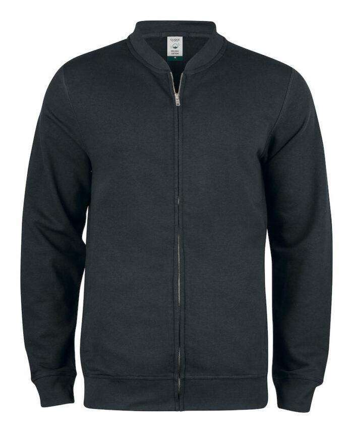 021006_PremiumOC_Cardigane-homme, femme, organique, polyester, recycle, qualite, gots, clique, 109 t-shirts, capuche, sweat-shirt, sweat, capuche, full zip, cardigan