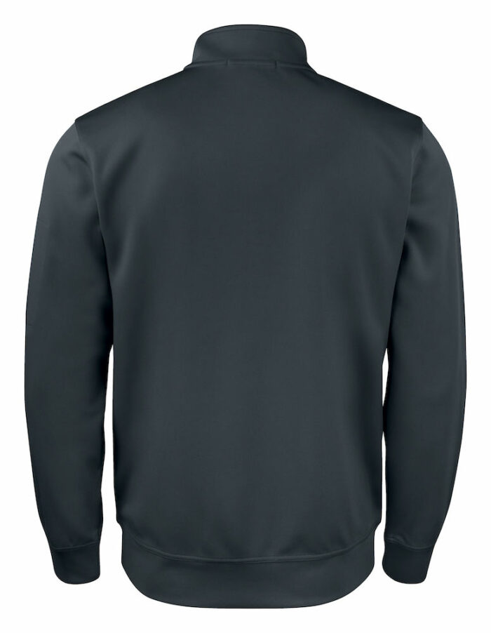 021016_Basic_Active_Cardigan_Sweat_full zip, clique, 109 t-shirts, polyester, qualite, spun dyed, ear phone system
