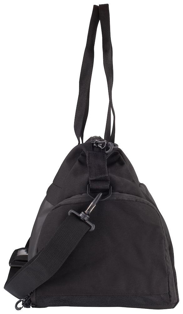 040246_Duffle - 2.0 - Superbe sac d'entraînement - Très bonne aération - compartiments séparés + aérés - Mousqueton pour clefs - 2 poignées pouvant être liées par velcro + 1 bretelle épaule a/ porte-cartes intégré - compartiment chassures - 48x25,5x28,5cm -34L -clique, 109 t-shirts