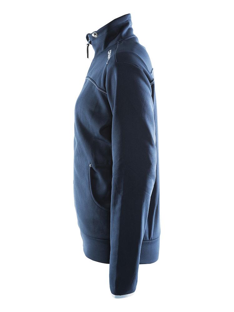 1901691_2336_Leisure_Jacket_Femme, Sweatshirt capuche confortable et stretch • Polyester doux et confortable • Ajustement ergonomique élastique • Capuche avec cordon de serrage • Deux poches, Craft, 109 t-shirts