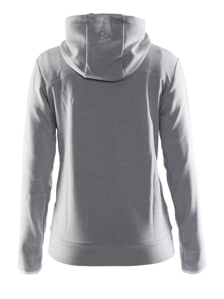 1901693_2336_Leisure_Full_Zip_Hood_Femme, Sweatshirt full zip capuche très confortable • Tissu Flex doux et fonctionnel • Ajustement ergonomique élastique • Capuche avec cordon de serrage • Deux poches, Craft, 109 t-shirts