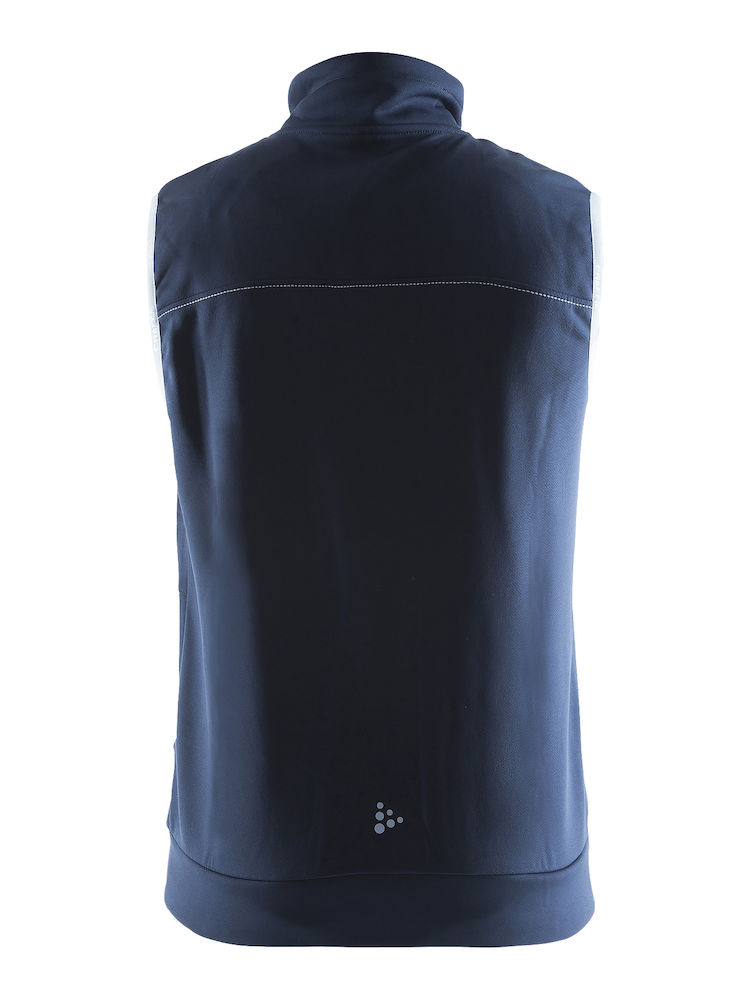 1903078_2395_Leisure_Vest_Homme, Bodywarmers avec capuche confortable et stretch • Polyester doux et confortable • Ajustement ergonomique élastique • Capuche avec cordon de serrage • Deux poches, Craft, 109 t-shirts