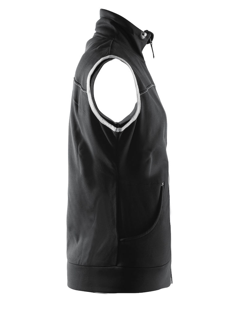 1903079_2395_Leisure_Vest_Bodywarmer avec capuche confortable et stretch • Polyester doux et confortable • Ajustement ergonomique élastique • Capuche avec cordon de serrage • Deux poches, Craft, 109 t-shirts