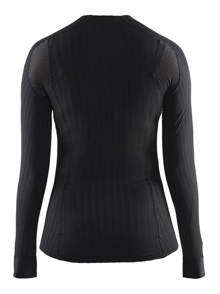 1904491_9999_Active_Extreme_2.0_CN_LS_Femme, Sous-vêtement - manches longues thermo-régulateur en elasthannne+ Coolmax - léger, souple et confortable - tissage en micro chaine spécifique en forme d'hélice - Excellente évacuation de la transpiration - confort optimum et performance, Craft, 10ç t-shirts