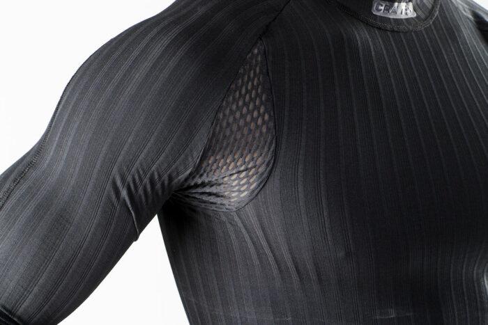 1904495_9999_Active_Extreme_2.0_CN_LS_Homme, Sous-vêtement - manches longues thermo-régulateur en elasthannne+ Coolmax - léger, souple et confortable - tissage en micro chaine spécifique en forme d'hélice - Excellente évacuation de la transpiration - confort optimum et performance, Craft, 109 t-shirts