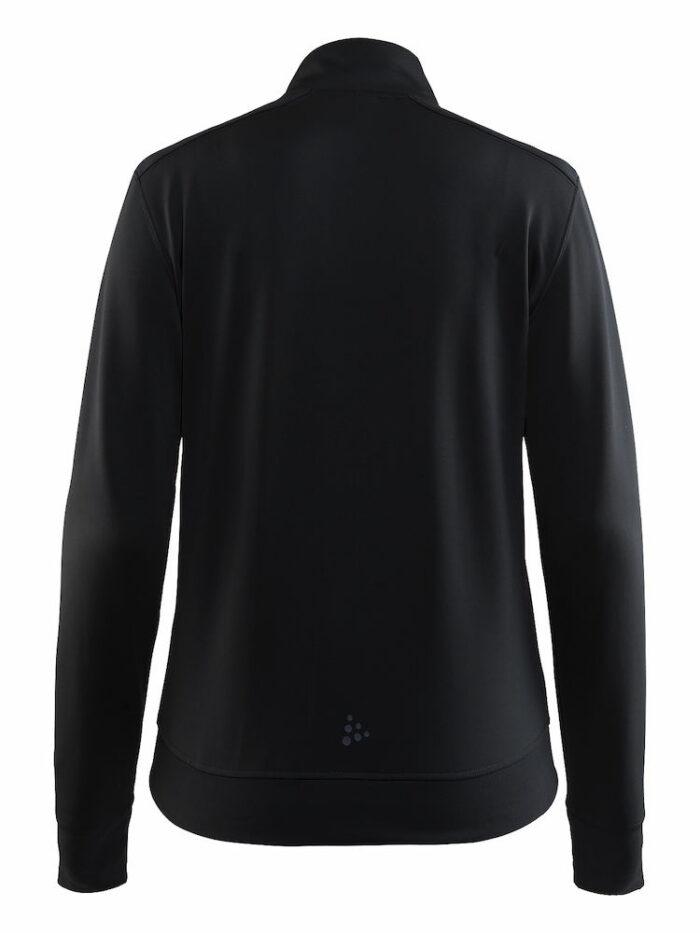 1904577_2975_Noble_Zip_Jacket_Femme, Veste full zip respirante et chaude • Jersey doux et légèrement brossé • Poches zippées et scellées • Œillet de ventilation en découpe laser sous les manches pour une meilleure ventilation, Craft, 109 t-shirts
