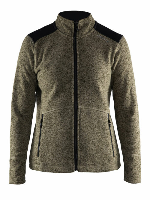 1904588_2381_NOBLE_JKT_HK_FLEECE_Femme, Veste Noble Zip Jacket Heavy Knit Fleece - Craft 1904588, Craft, 109 t-shirts