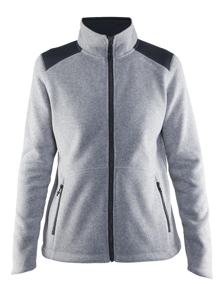 1904588_2381_NOBLE_JKT_HK_FLEECE_Femme, Veste Noble Zip Jacket Heavy Knit Fleece - Craft 1904588, Craft, 109 t-shirts