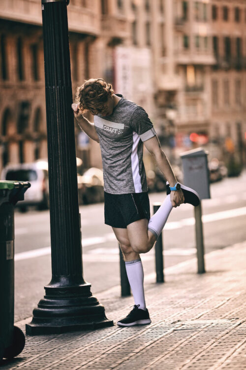 1904087_2900_Compression_Sock_Homme, Femme, Unisexe, Chaussettes de compression hihi-tech - réduit les vibrations musculaires - idéal pour le maintien de l'énergie musculaire durant les efforts intenses - Points de compression ergonomiques - Elastique large pour un maximum de confort - Finition hors côte - Choisissez votre compression en fonction de la taille de vos mollets., Craft, 10ç t-shirts