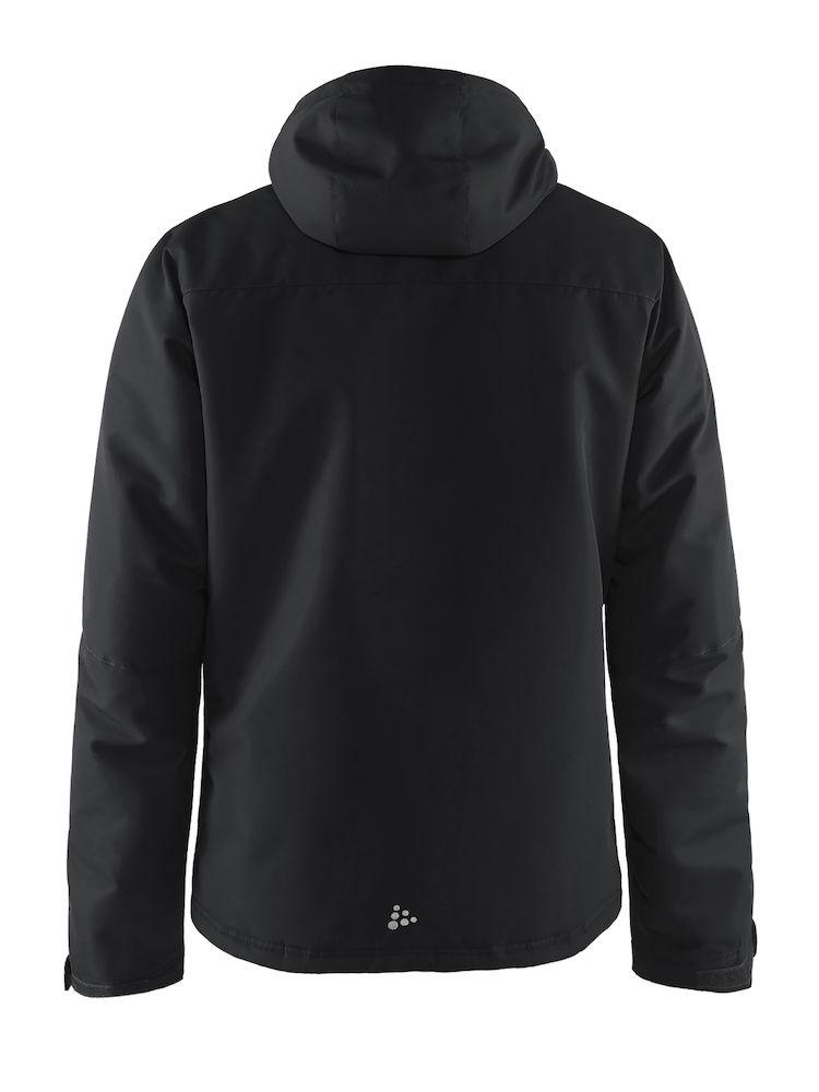 1905070_947000_Utility Jacket M_Homme, Softshell 3 couches - Vent Air - coutures thermo-soudées - zips étanches - manches pré-formées - capuche compatible avec les casques - Softshell high tech aux capacités extrêmes WP : 8000 MWP : 8000, Craft, 190 T-shirts