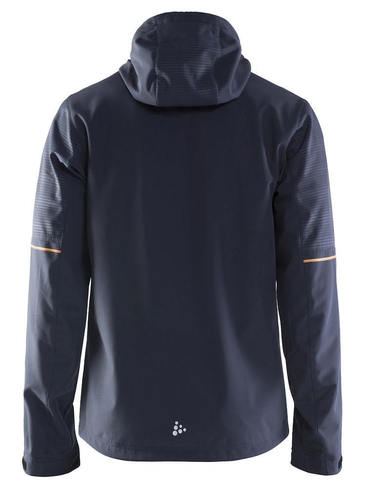 1905072_947563_Highland Jacket_Homme, Softshell 3 couches coupe-vent / imperméable et respirante - Doublure brossée pour un confort optimal - Capuche ajustable - Cordon de serrage - 2 poches chauffe-main - Cordon de serrage à la taille WP : 5000 MWP : 5000, Craft, 109 t-shirts