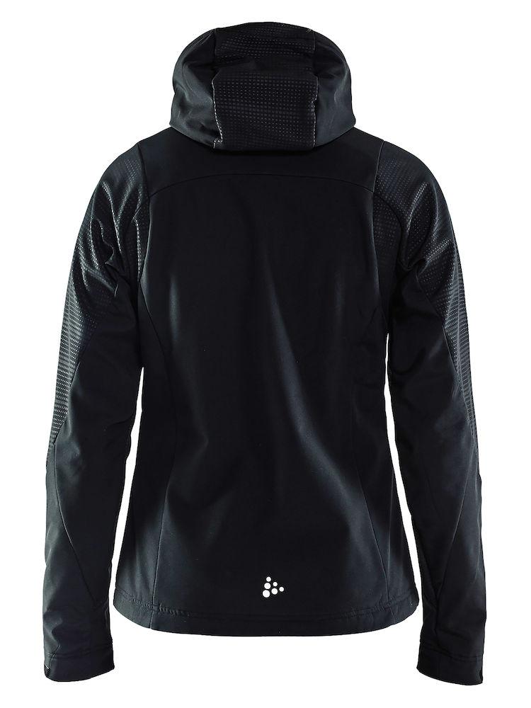 1905073_947563_Highland Jacket_Femme, Softshell 3 couches coupe-vent / imperméable et respirante - Doublure brossée pour un confort optimal - Capuche ajustable - Cordon de serrage - 2 poches chauffe-main - Cordon de serrage à la taille WP : 5000 MWP : 5000, Craft, 109 t-shirts
