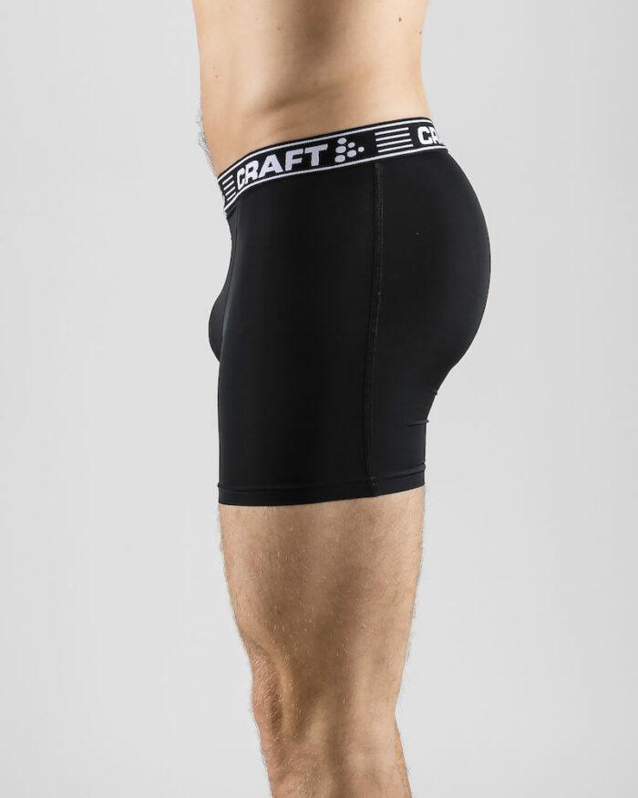 1905489_9900_Greatness_Boxer_6-Inch_Homme, Boxer en matière douce stretch et confortable - tissage high tech - Maintien au frais et au sec pendant les efforts intenses - longueur : 15.2 cm, Craft, 109 t-shirts