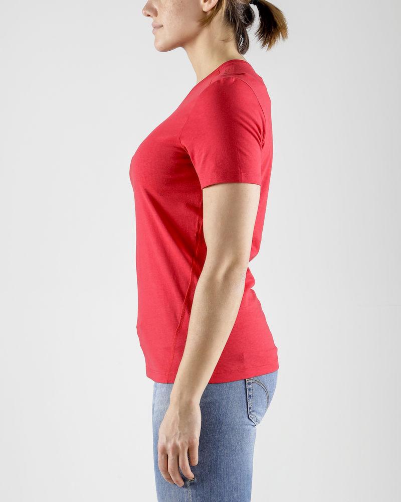 1906269_336000_Deft_2-0_Tee_Femme, Craft, 109 T-shirts, T-shirt doux et fonctionnel • Mélange polyester et coton pour un équilibre parfait entre fonctionnalité et confort • Regular fit