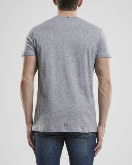 1906270_336000_DEFT 2.0 SS TEE_Homme, Craft, 109 t-shirts, T-shirt doux et fonctionnel • Mélange polyester et coton pour un équilibre parfait entre fonctionnalité et confort • Regular fit